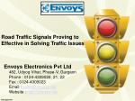 Road Traffic Signals Proving to Effective in Solving Traffic Issues