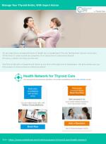 Manage your thyroid better, with expert advice