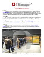 Usage of Q-Manager Products, Queue Barriers