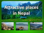 Attractive Places in Nepal