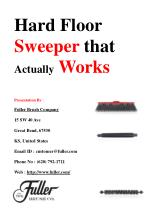 Hard Floor Sweeper that Actually Works