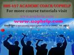 HHS 497 Academic Coach/uophelp