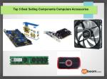 Top 5 Best Selling Components Computers Accessories