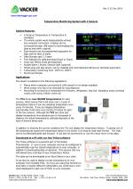 Temperature Monitoring System with 4 Sensors