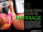 10 Financial Mistakes That Ruin Your Marriage