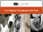 Los Angeles Photography Services