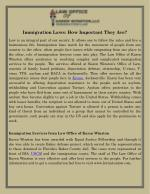 Immigration Laws: How Important They Are?