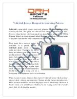 Volleyball Jersey Manufacturers | Custom Sublimation Team Jerseys