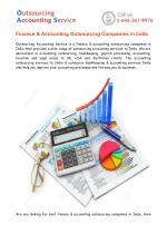 Finance & Accounting Outsourcing Companies in India