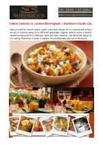 Indian Caterers in London, Indian Caterers in Birmingham