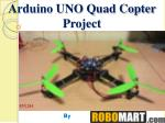 arduino uno quadcopter project by Robmart India