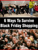 6 Ways To Survive Black Friday Shopping
