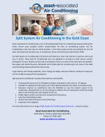 Split System Air Conditioning in the Gold Coast