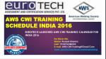AWS CWI- International Certification Exam Schedules India 2016