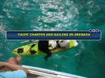 Essentials of Yacht Charter and Sailing in Grenada