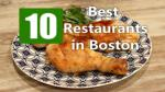 Best Restaurants in Boston
