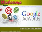 Google AdWords Management Services by Discover SEO Melbourne