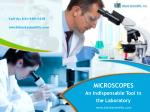 Microscopes - An Indispensable Tool in the Laboratory
