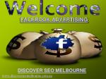 Facebook Advertising and Marketing Melbourne