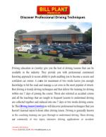 Driving Lessons Crawley