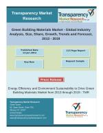 Green Building Materials Market - Global Industry Analysis, Forecast, 2013 – 2019