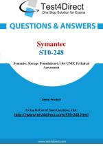 Symantec ST0-248 Technical Specialis Real Exam Questions