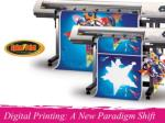 Difference between Analog and Digital printing