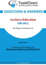 Arcitura Education S90-09A Certified SOA Architect Exam Questions