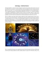 Astrology Classes & Courses in India, Horoscope Reading