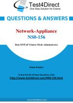 Network Appliance NS0-156 Exam Questions