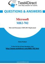 Microsoft MB2-702 Exam - Updated Questions