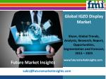 IGZO Display Market Value Share, Supply Demand, share and Value Chain 2015-2025
