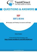 HP HP2-B104 Exam Questions