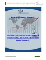 Healthcare Information System - Size, Share, Trend and Analysis to 2019