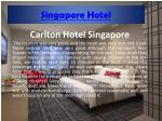 Singapore Hotels: Cheap Hotels in Singapore
