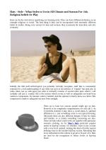 Hats - Style - What Styles to Use in All Climate and Seasons For Job, Religious beliefs Or Play