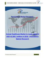 Animal Healthcare Market - Share, Trends, Analysis and Size to 2019