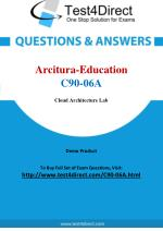 Arcitura Education C90-06A Exam - Updated Questions