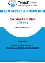 Arcitura Education C90-03A Certified Cloud Architect Exam
