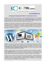 Advantages of Employing WordPress Customization Services