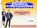 Very Best Sydney Property Valuers for property valuer