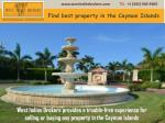 West Indies Brokers Brings you a Step Closer to Your Investment Dreams with MLS #: 404970