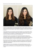 Hair Extensions: Fastest and Easiest Way to Increase Your Hair
