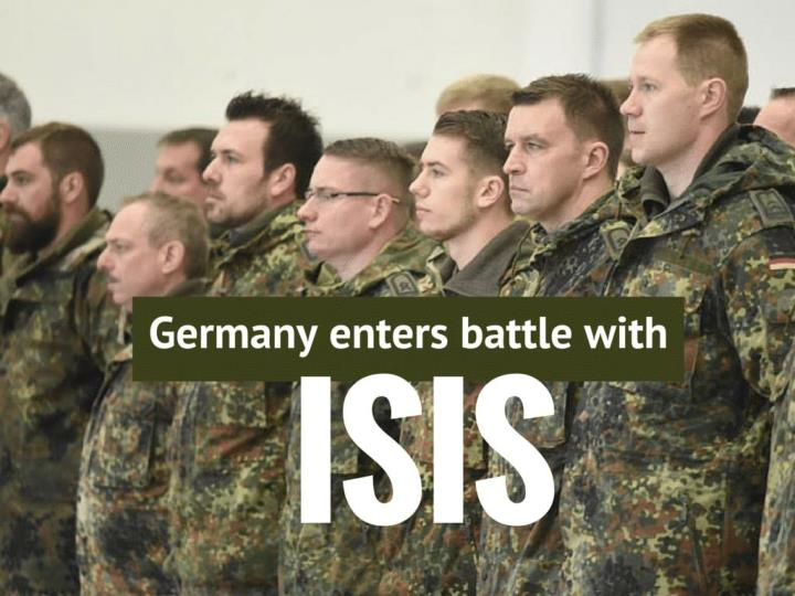 Germany enters battle with ISIS