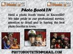 Photo Booth Prices and packages