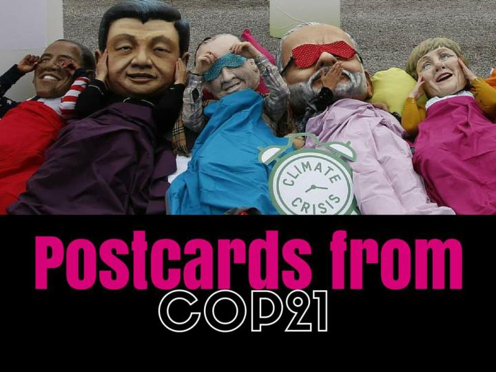 Postcards from COP21