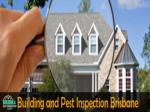 Best Building and Pest Inspection Services in Brisbane