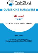 Microsoft 70-517 MCSD Real Exam Questions