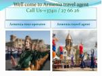 Armenia travel agent
