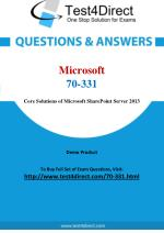 Microsoft 70-331 Exam - Updated Questions